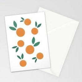 Minimalist Oranges Stationery Cards