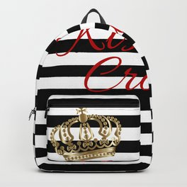 Kiss My Crown Backpack