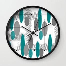 Orbs Always Float Wall Clock