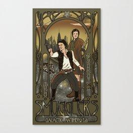 Smugglers, Inc Canvas Print