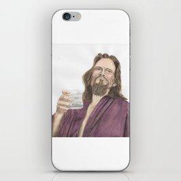"Jeffrey ""the Dude"" Lebowski iPhone Skin"