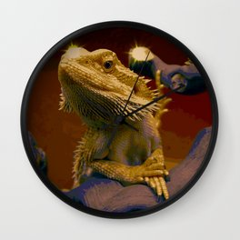 The Majestic Bearded Dragon Wall Clock