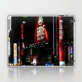 Game Time in Shinjuku Laptop & iPad Skin