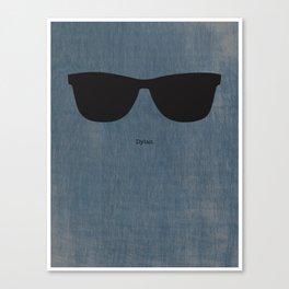 Dylan Shades Canvas Print