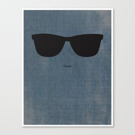 Dylan Shades Canvas Print