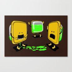 Radioactive Tupper Canvas Print