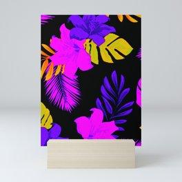 Tropical Floral Delight Mixed Pink Mini Art Print