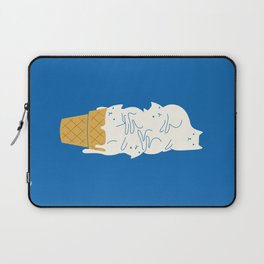 Cats Ice Cream Laptop Sleeve