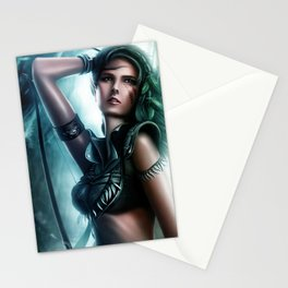 Eve's hunting day Stationery Cards