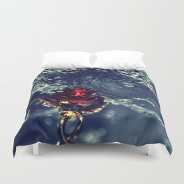 Your Tears Don't Fall Duvet Cover