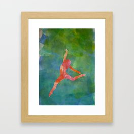 Gymnast 1 Framed Art Print