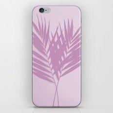 Palm Leaves #2 #Plum #decor #art #society6 iPhone Skin