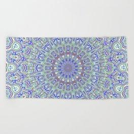 Ornamental Mandala Beach Towel