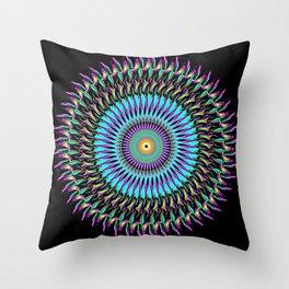 Spiral Art Design B2 Throw Pillow