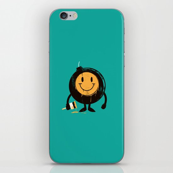 Happy buddy iPhone & iPod Skin