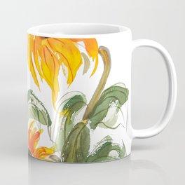 sunflower watewrcolor 2018 Coffee Mug