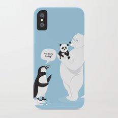 How little Pandas are born Slim Case iPhone X