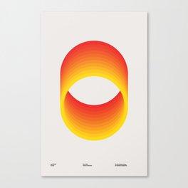 Circles - A 1960 Collection Piece Canvas Print