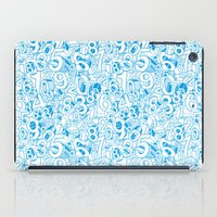 numbers iPad Cases featuring Numbers by Ramses Pujol