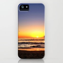 "Hermosa Beach ""At Rest"" iPhone Case"