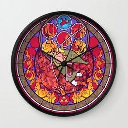 Grappling Hook Wall Clock