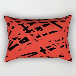 ABSTRACT PRINT 87 Rectangular Pillow