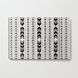 Tribal Arrow Boho Pattern #5 #aztec #decor #art #society6 Metal Print