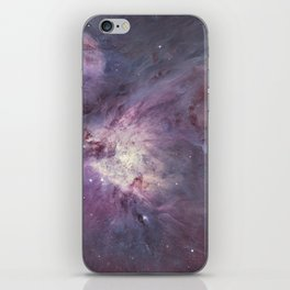 The Orion Nebula Messier 42 diffuse nebula in constellation Orion. iPhone Skin