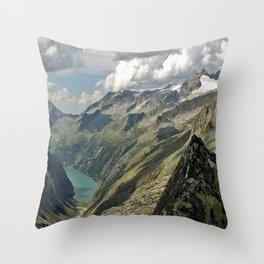 zillergründl dam Austria Throw Pillow