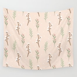 Cotton Stalks Wall Tapestry
