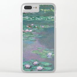 Water Lilies Monet 1905 Clear iPhone Case