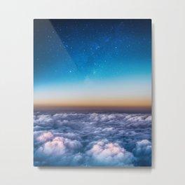 Rise and Shine Galaxy Metal Print