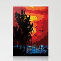 safari Stationery Cards featuring Safari  by Cindys