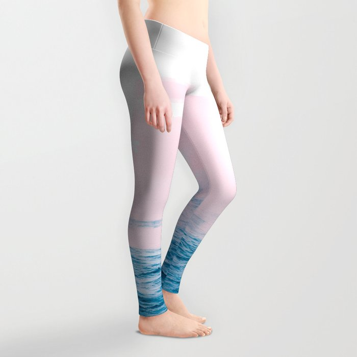 Ocean + Pink #society6 #decor #buyart Leggings