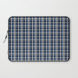 The checkered pattern . Laptop Sleeve