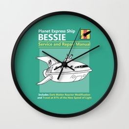 Bessie Service and Repair Manual Wall Clock