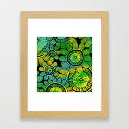 Big Floral 2 Framed Art Print