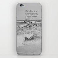 jane austen iPhone & iPod Skins featuring Jane Austen Every Day by KimberosePhotography