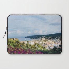 Spanish Coast | Costa Brava Cadaques Coastal Mediterranean Village Riviera Art Laptop Sleeve