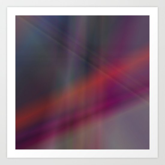 Dark abstract colors Art Print