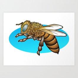 Zzoe, my favorite bee Art Print