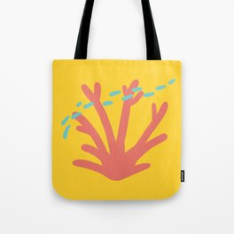 Coral Series:Fantasy Fan Tote Bag