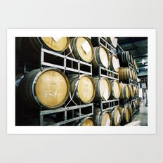 8Wired Brewing Co., Auckland, NZ Art Print