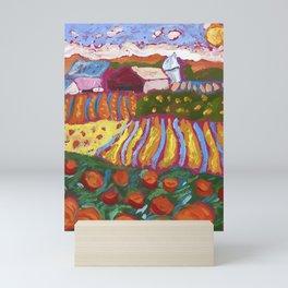 Iowa Barn Mini Art Print