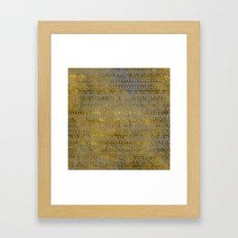 290 7 Framed Art Print