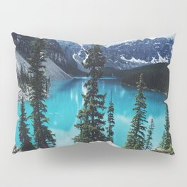 Lake Moraine Alberta Pillow Sham