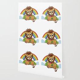 Rainbow Lion Wallpaper