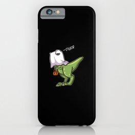 Halloween T Rex Dinosaur iPhone Case