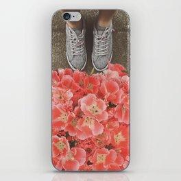 More Feet n Flowers iPhone Skin