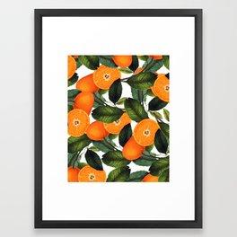 The Forbidden Orange #society6 #decor #buyart Framed Art Print